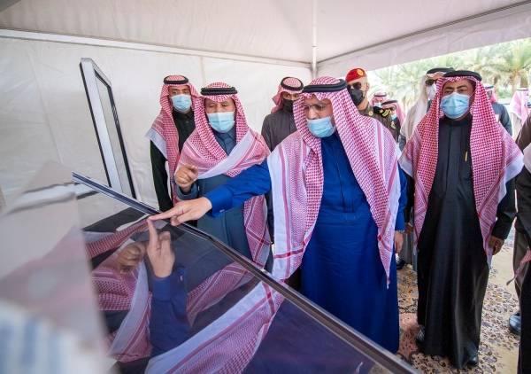 أمير القصيم يدشن 9 مشاريع تطويرية تابعة لأمانة المنطقة بتكلفة 37 مليون ريال