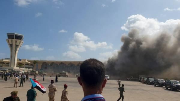 إدانة عربية واسعة للهجوم الإرهابي على مطار عدن وتحميل ميليشا الحوثي الإنقلابية المسؤولية عنه