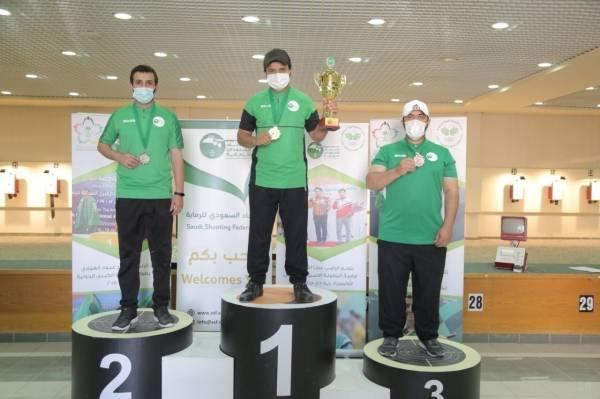 اختتام بطولة المملكة للرماية على أسلحة ضغط الهواء بتتويج الفائزين