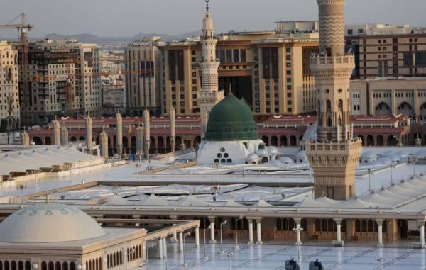 سطح المسجد النبوي يستقبل المصلين بدءًا من اليوم