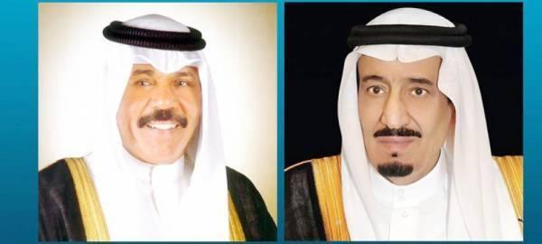 خادم الحرمين يتلقى رسالة من أمير الكويت