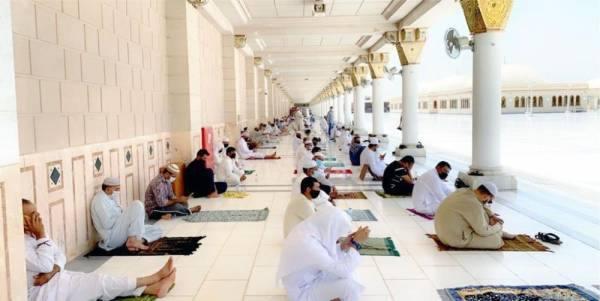 سطح المسجد النبوي