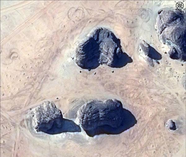 صور بالأقمار الاصطناعية لمحافظة العلا