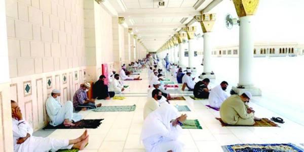 السماح لـ 10 آلاف زائر بالصلاة في سطح المسجد النبوي