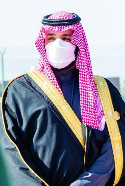 ولي العهد يستقبل قادة الخليج