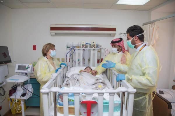 مستشفى الملك فيصل ينجح في زراعة قلب لطفلة رضيعة لم تُكمل عامها الأول