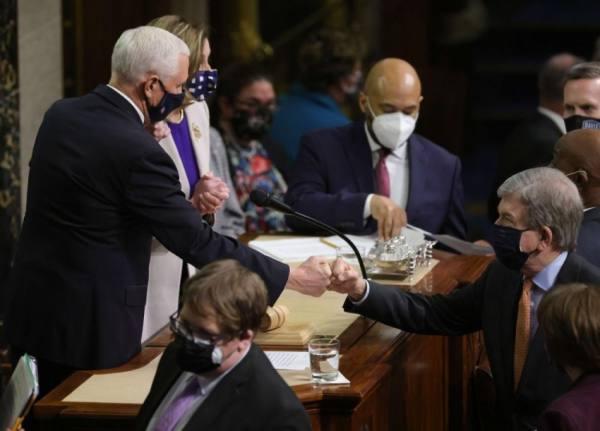 الكونجرس يصادق.. بايدن رئيسا للولايات المتحدة