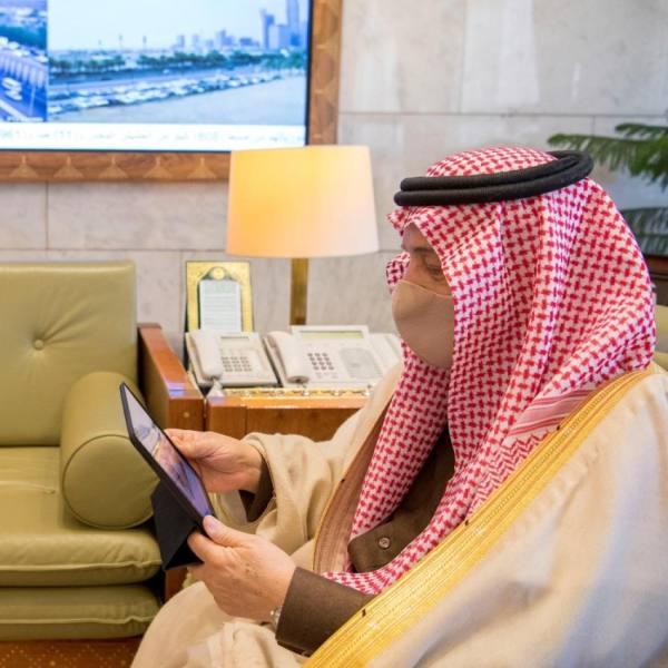 الرياض : فيصل بن بندر يدشن حملة