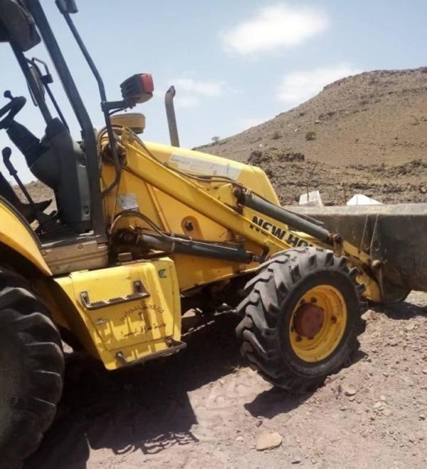بلدية سراة عبيدة تزيل 600 م2 تعديات عن أراضٍ حكومية