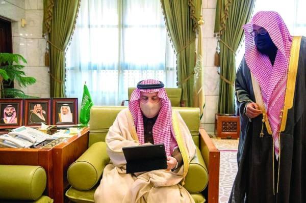 أمير الرياض يدشن الحملة