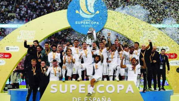 «الرياضية السعودية» تواصل احتكار السوبر الإسباني