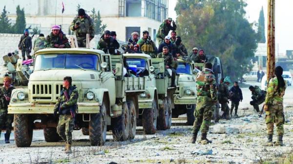 سوريا.. «داعش» يشن هجوما عنيفا على قوات النظام في حماة