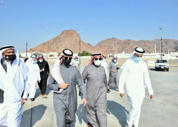 لجنة المواقع التاريخية الإسلامية تقف ميدانياً على عدة مواقع بالمدينة المنورة