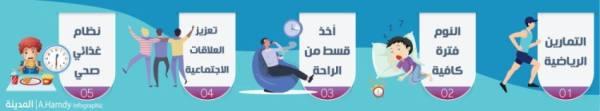 5 عادات صحية للحد من ضغوط العمل
