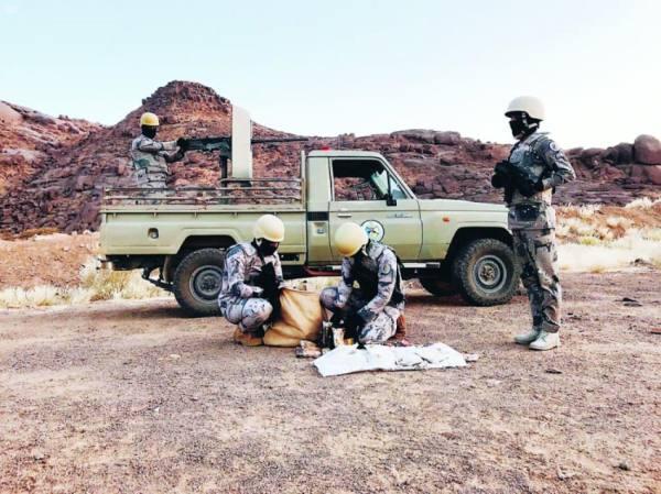 « الحدود»: ضبط 94 متورطا بتهريب مواد مخدرة