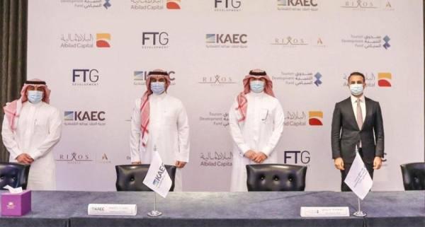 صندوق التنمية السياحي يوقع اتفاقية شراكة لتطوير منتجع بمدينة الملك عبدالله الاقتصادية
