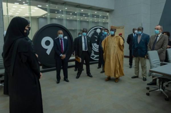 مركز (911) يستقبل عددًا من سفراء الدول الإفريقية في المملكة