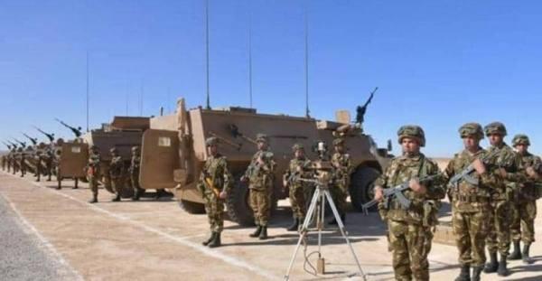 الجزائر.. مناورات عسكرية عند الحدود مع المغرب