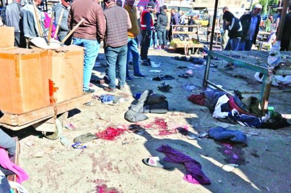 بغداد تنزف..  عشرات القتلى والجرحى في هجوم انتحاري مزدوج
