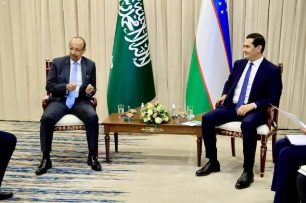 المهندس الفالح : نتطلع لتنمية الشراكة و الاستثمار السعودي – الأوزبكي