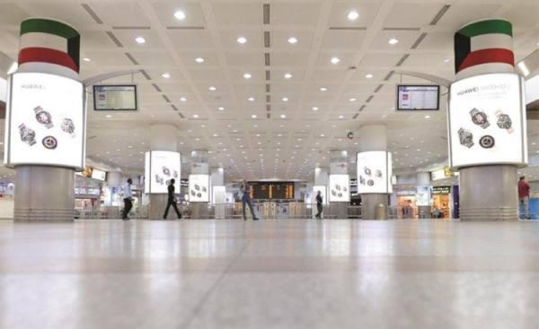 تقليص حركة المسافرين 80 ٪ في الكويت
