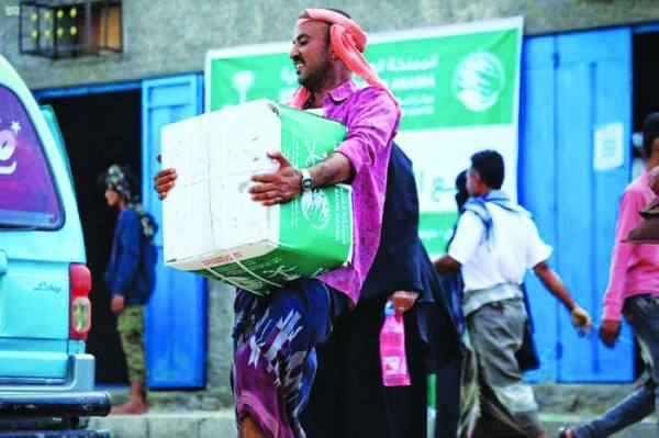 سلال الخير تتدفق على المحتاجين في اليمن من مركز الملك سلمان للإغاثة