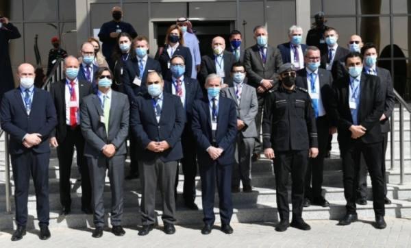 مركز (911) يستقبل عدداً من سفراء الدول الأوربية