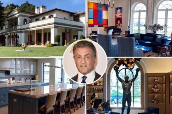 ستالون يبيع قصره بـ 130 مليون دولار
