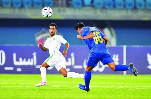 من مباراة الأهلي مع استقلال إيران في النسخة الماضية من دوري أبطال آسيا