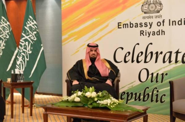 ابن عيّاف يحضر حفل السفارة الهندية احتفاءً باليوم الوطني لبلادها