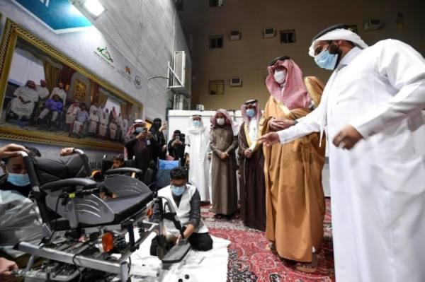 نائب أمير المدينة يفتتح مقر جمعية طيبة للإعاقة الحركية