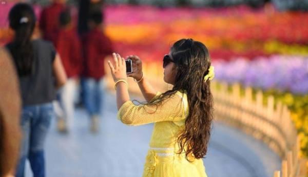 «شتاء السعودية» يصنع ذكريات المرح مع سياحة «الزهور»