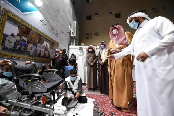 نائب أمير المدينة يطلق أسطول النقل الميسر لذوي الإعاقة