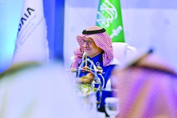 عبدالعزيز بن سلمان يطلق مركز الذكاء الاصطناعي للطاقة