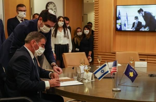 كوسوفو تقيم علاقات دبلوماسية  مع إسرائيل وتفتح سفارة لها في القدس
