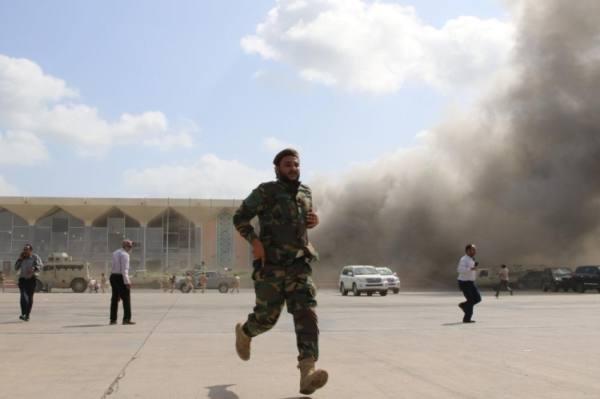 اليمن.. فريق خبراء دولي للتحقيق في الهجوم على مطار عدن