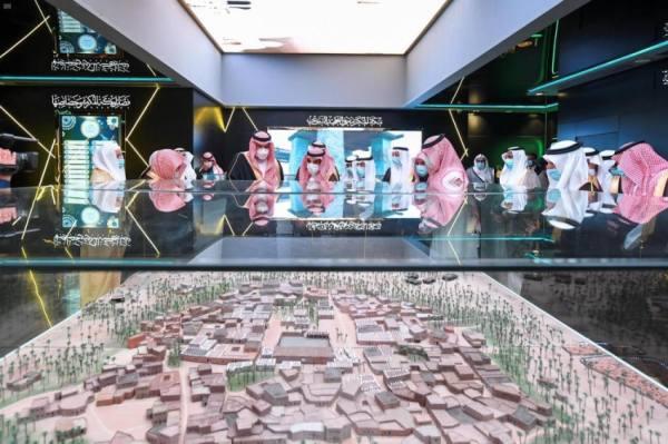 أمير المدينة يُدشن المعرض والمتحف الدولي للسيرة النبوية