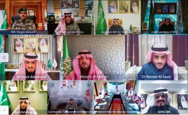 عبدالعزيز بن سعود يدشن عدداً من المقار الأمنية في مكة المكرمة والرياض