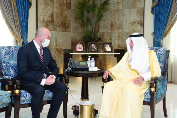 مع سفير البوسنة