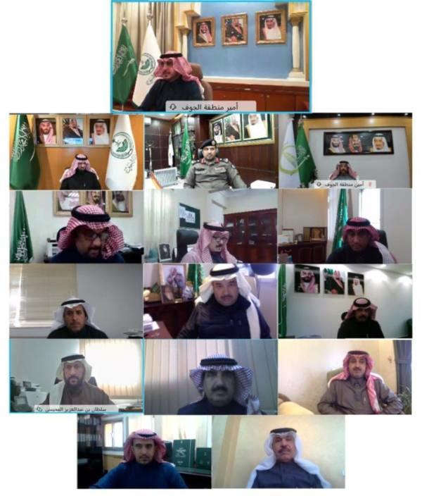 أمير الجوف يطلع على مشاريع الإسكان التنموي بالمنطقة