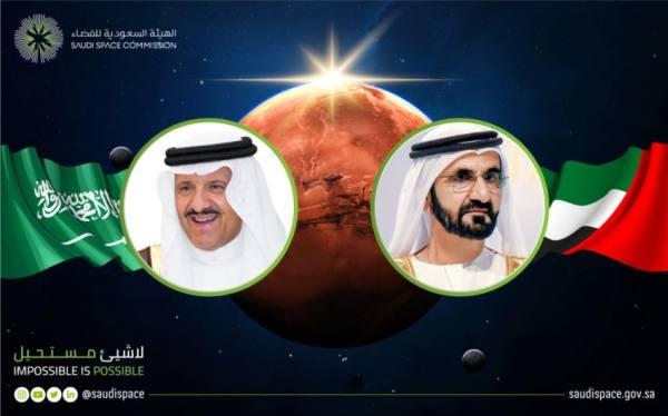 سلطان بن سلمان يهنئ الإمارات بمناسبة وصول