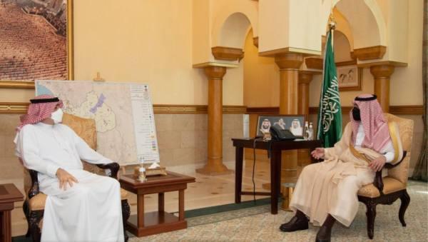 نائب أمير منطقة مكة يستقبل أمين جدة