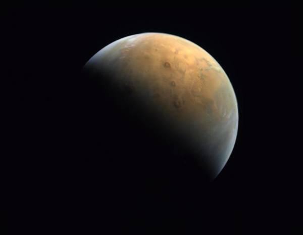 أول صورة للمريخ من مسبار