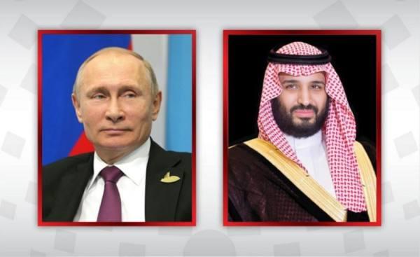 ولي العهد والرئيس الروسي يتفقان على دعم استقرار أسواق البترول