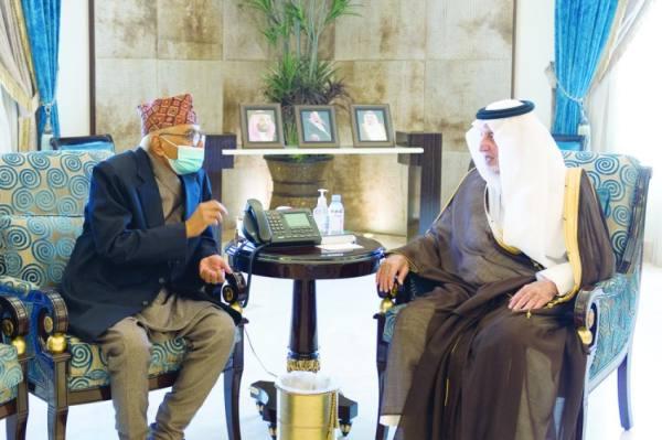 الفيصل خلال استقبال سفير نيبال