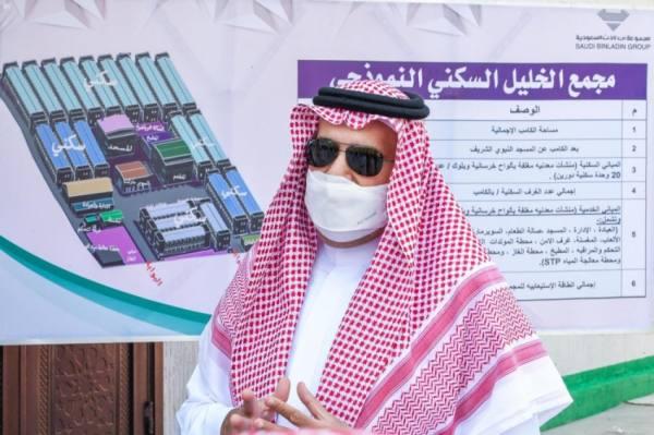 فيصل بن سلمان يدشن أول مشروع نموذجي لإسكان العمالة بالمدينة المنورة