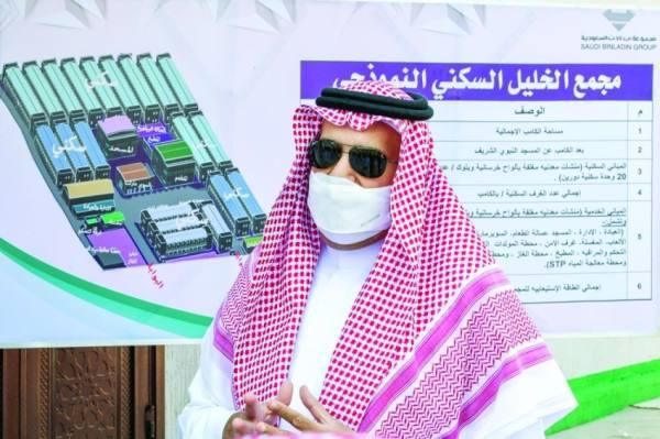 أمير المدينة يدشن أول مشروع نموذجي لإسكان العمالة