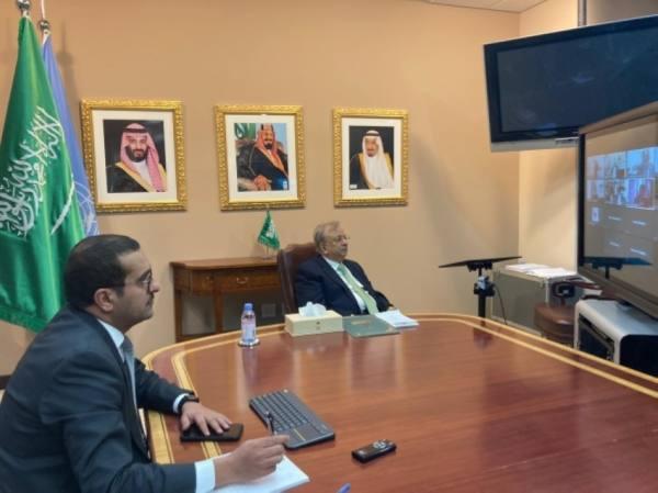 المعلمي يشارك في الاجتماع الأول لسفراء