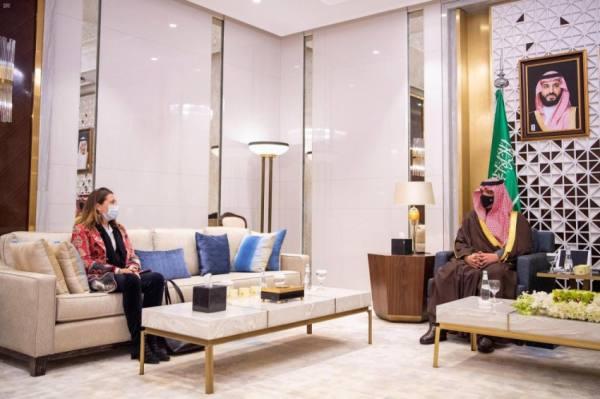 وزير الداخلية يستقبل المنسقة المقيمة للأمم المتحدة في المملكة