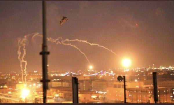 إطلاق صواريخ باتجاه السفارة الأميركية في بغداد